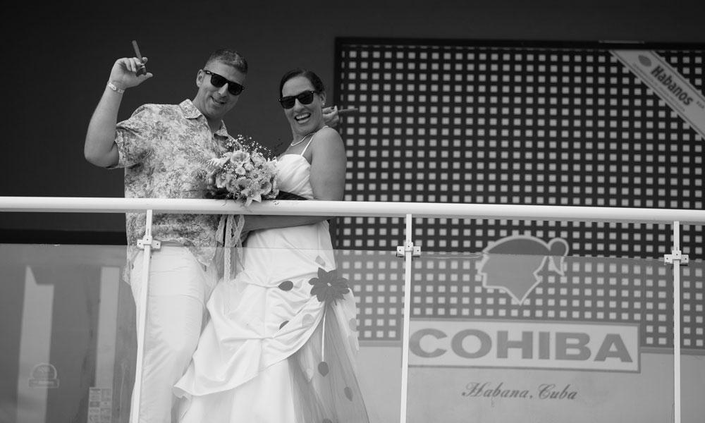 Beach wedding Cuba