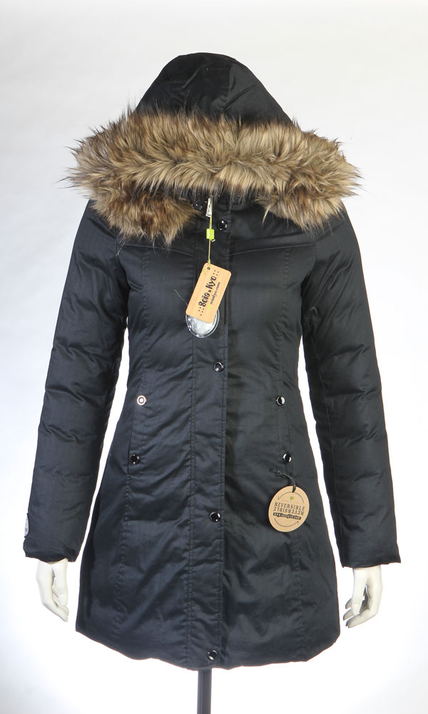 Product black coat