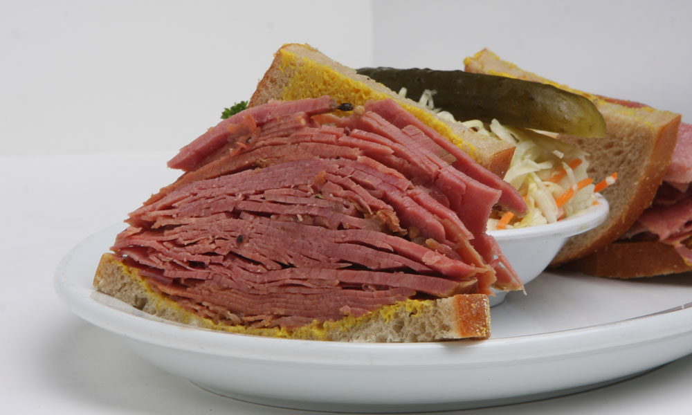 Food smoked meat