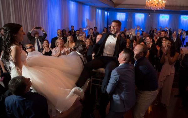 photographie de mariage intérieur