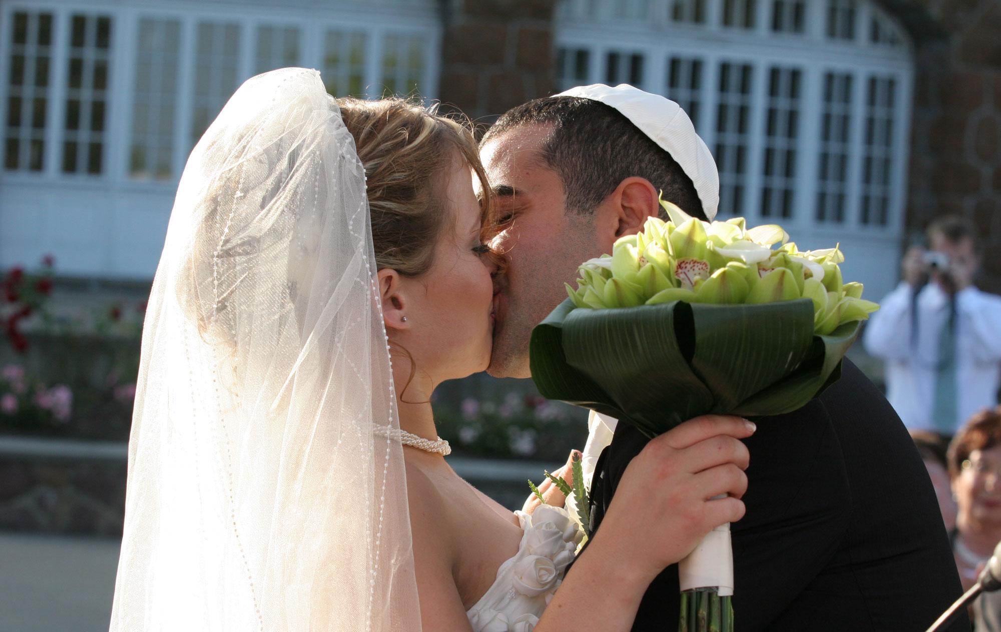 photographie de mariage juif