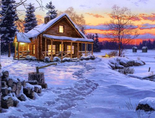 How to take good Christmas photos outdoors